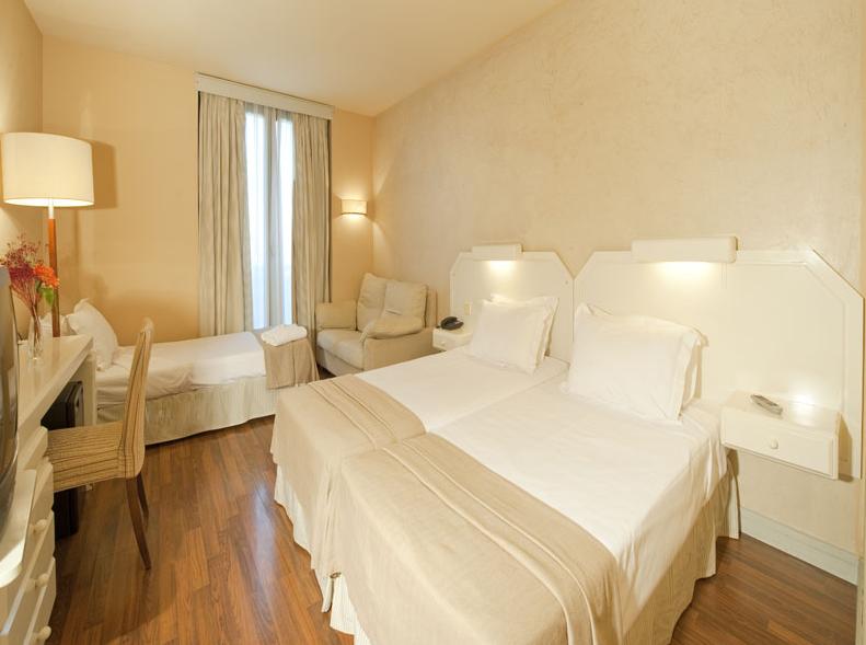 Habitación Hotel Sevilla Congresos EBE13