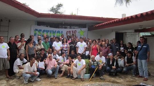 Foto de familia Festival CLIC 2012